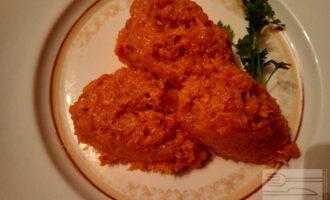 ПП пюре из тыквы и моркови