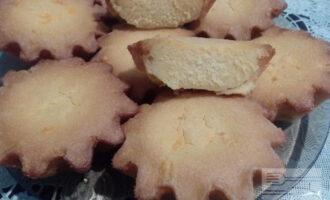 Постные кексы из кукурузной муки