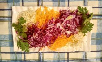 ПП салат из капусты и тыквы
