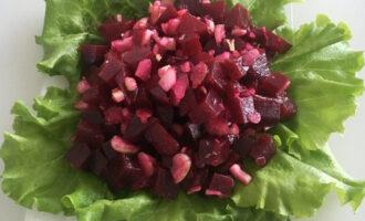 Салат из свеклы и сельдерея
