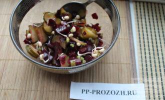ПП салат с проростками