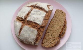 Бездрожжевой хлеб с отрубями