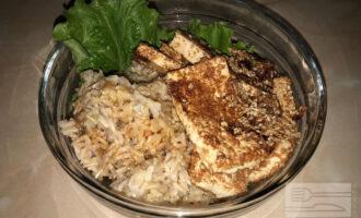 Тофу с рисом