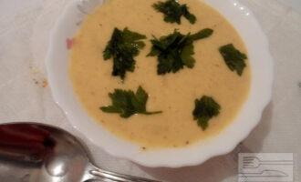 Постный крем-суп на кокосовом молоке