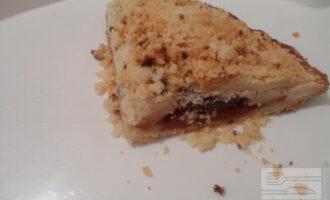 ПП пирог со сливой и яблоком