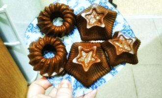Банано-шоколадные ПП кексы