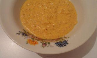 Шаг 6: Смешайте лук и морковь с вареной чечевицей и хорошо измельчите в блендере.