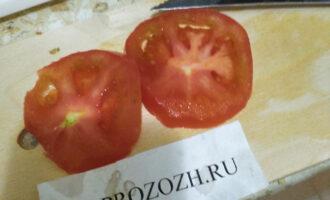 Шаг 5: Подготовьте 2 кружка из помидора.