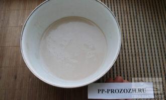 Шаг 4: Хорошо отожмите, получится вот такое ореховое молоко.
