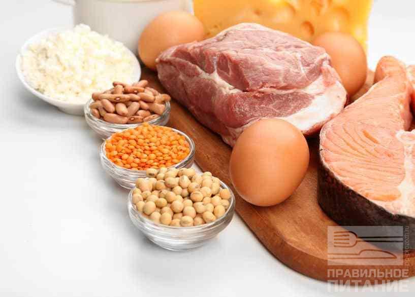 Белок для беременных в продуктах