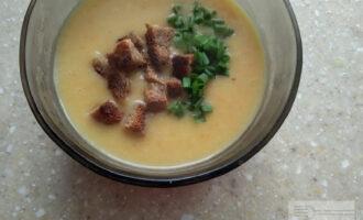 Постный гороховый крем-суп
