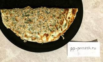 Овсяноблин с сыром и зеленью