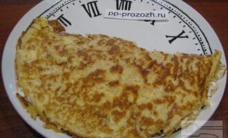 Овсяноблин с творожным сыром