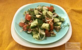 Шаг 6: Салат готов.