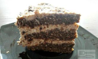 Диетический торт без муки
