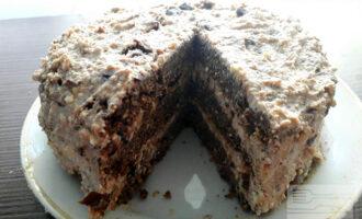 Шаг 12: Вот такой красивый торт получается. Приятного аппетита!