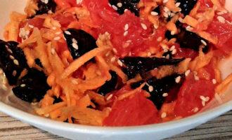 Диетический салат с грейпфрутом