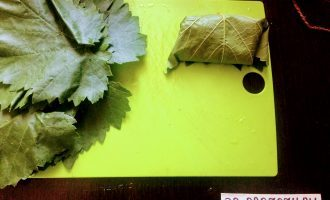 Шаг 6: Заверните фарш в лист.