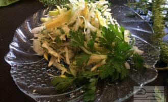 Салат с авокадо сыроедческий