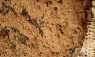 Шпинатный хлеб на закваске
