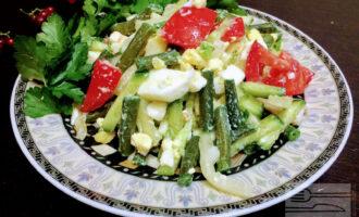 Салат из спаржи для похудения