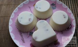 Диетический десерт из молока