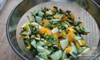 Салат из сырой тыквы для похудения