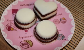 Диетический десерт из кокосового молока