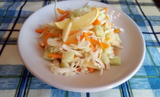 Салат из тыквы с яблоком для похудения