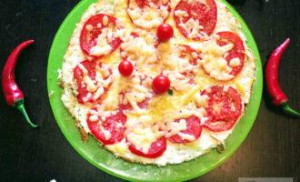 Пицца на курином фарше в духовке