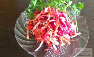 Салат из моркови и свеклы для похудения