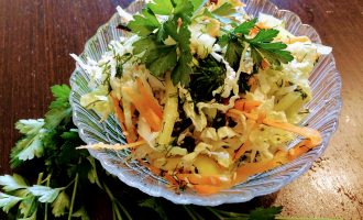Салат из пекинской капусты для похудения