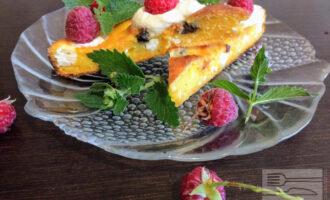 Морковно творожный диетический торт