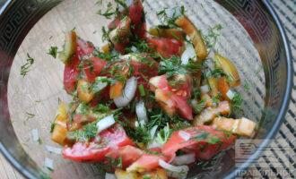 Летний салат для похудения