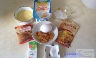 Шаг 1: Подберите все ингредиенты по списку. Отмерьте нужное количество каждого ингредиента.