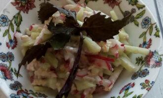 Салат с кефиром для похудения