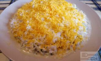 Диетический салат мимоза с тунцом