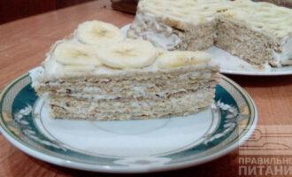 Диетический блинный торт