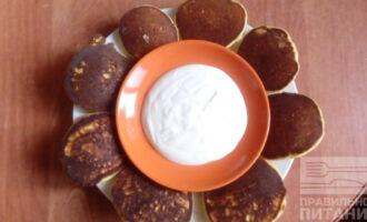 Оладьи из рисовой муки на молоке