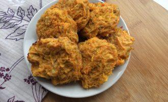 Морковные оладьи диетические в духовке
