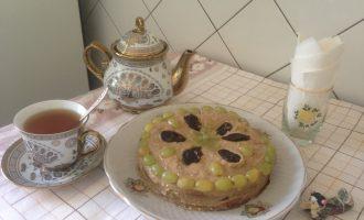 Торт с финиками
