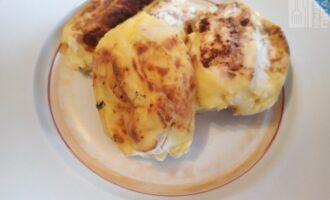 Сырники из творога с яблоком