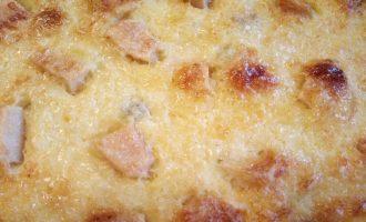 Шаг 7: Через  30-40 минут достаньте запеканку из духовки.
