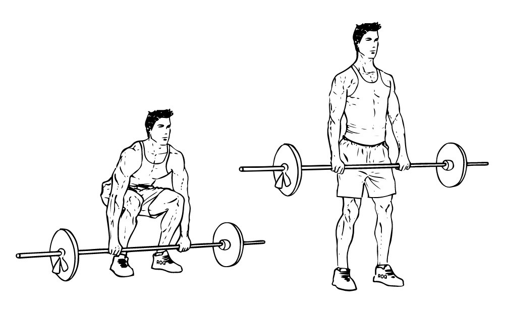 Становая тяга в тренировках для набора массы