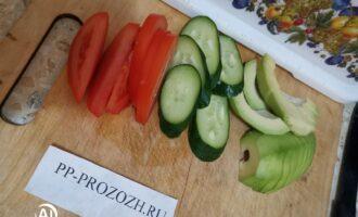 Шаг 6: Подготовьте овощи.