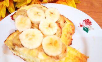 Творожно банановая запеканка в духовке диетическая