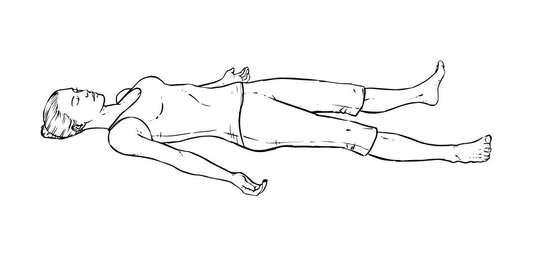 Завершающее упражнение в йоге для похудения