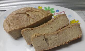 Творожно-банановый хлеб на ржаной муке