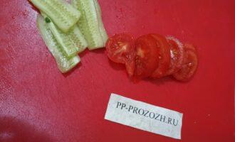 Шаг 7: Подготовьте овощи.