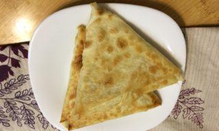 Пирожки из лаваша с яблоком и маком